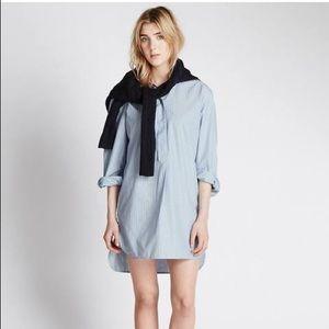 EUC M&S Alexa Chung Edna Striped Shirt Dress